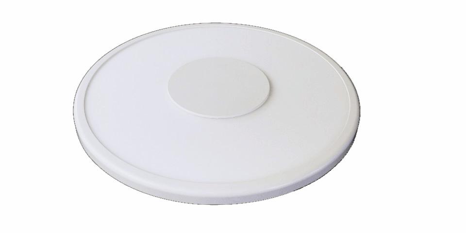 LED  무타공 원형 엣지 평판조명기구(아웃렛박스용)